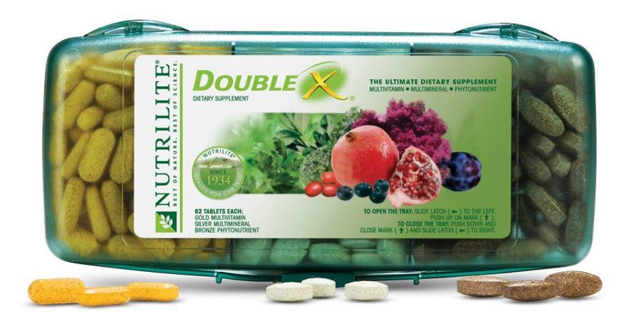 Nutrilite Double X แอมเวย์ ของแท้ราคาถูก ปลีก/ส่ง โทร 089-778-7338-088-222-4622 เอจ